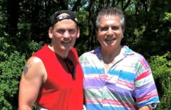Councillor Tom Jackson & Greg Lenko at Project Albion - June 2012
