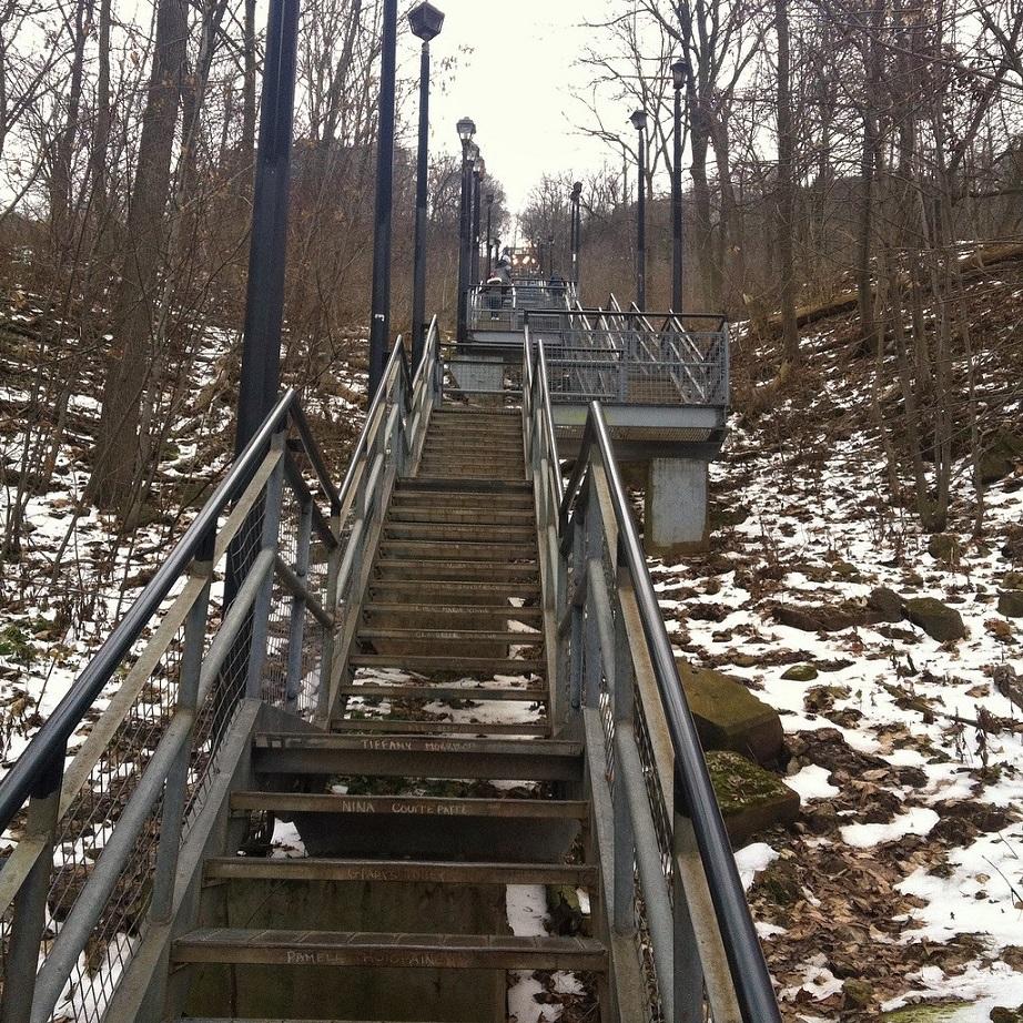 Escarpment Stairs The Escarpment Project